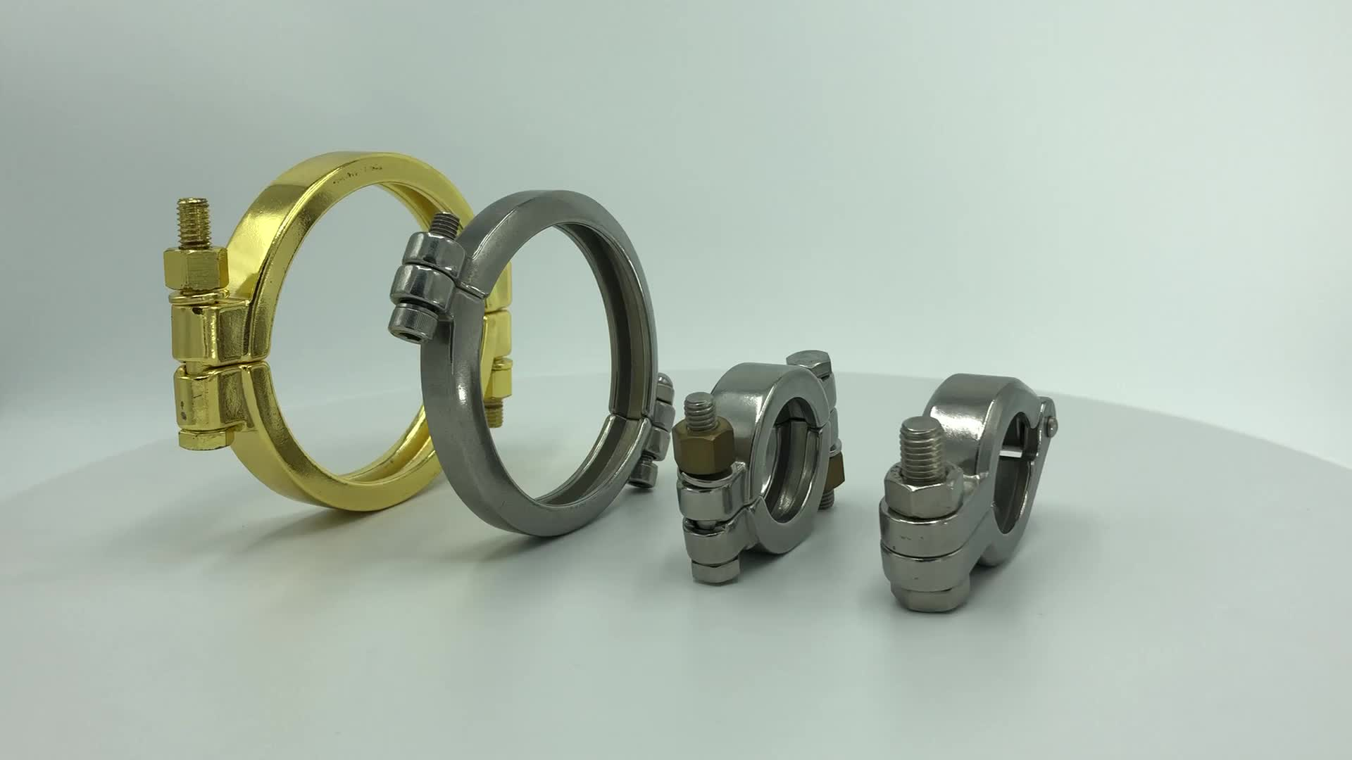 DONJOY stainless steel single pin clamp rubber  tri clamp fit