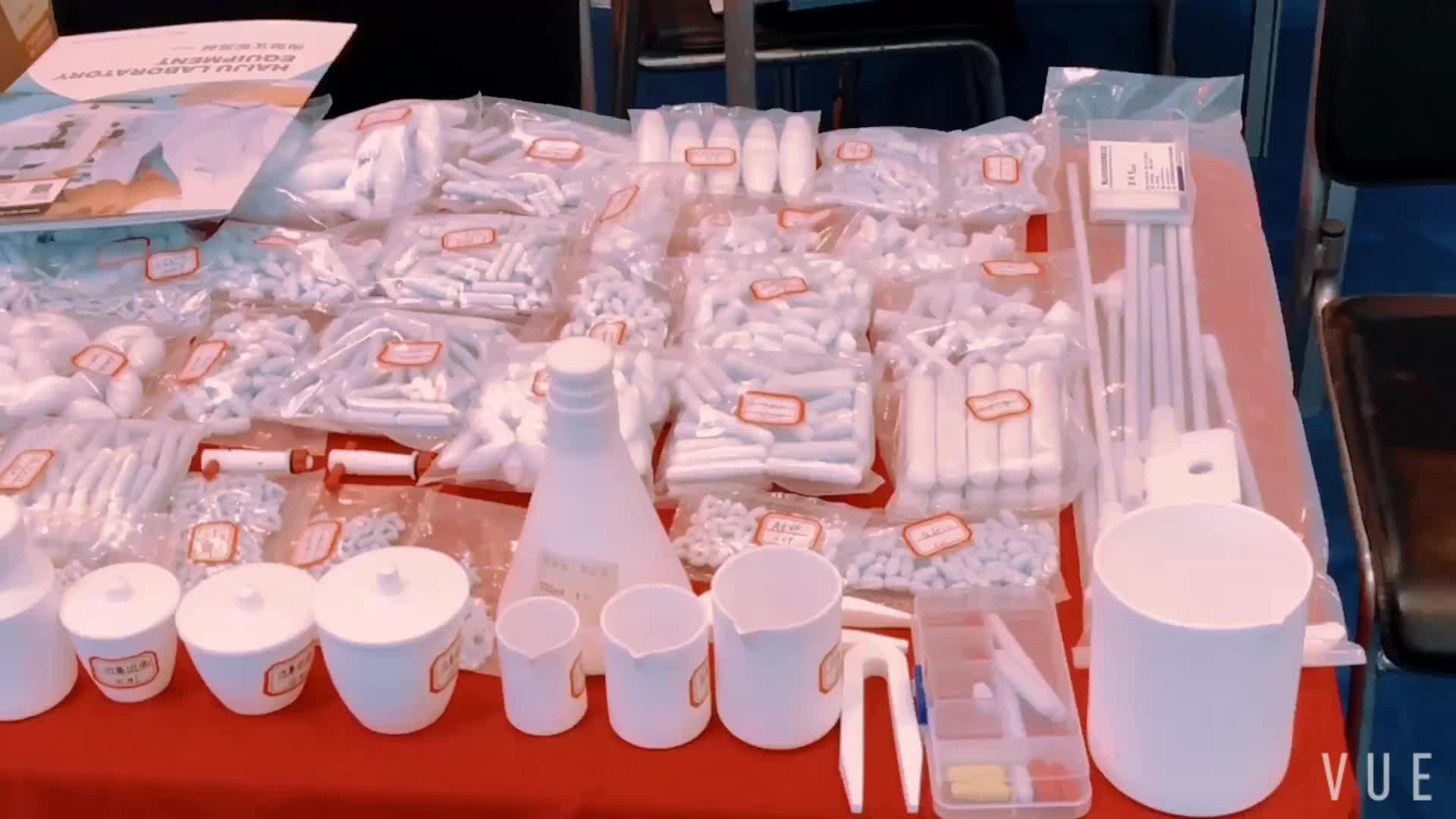 Laboratorio HAIJU Octagon Ancoretta Magnetica Bar con Integral Pivot Anello, PTFE Copertina Mescolando Asta, 9mm di Diametro, 30mm Lunghezza