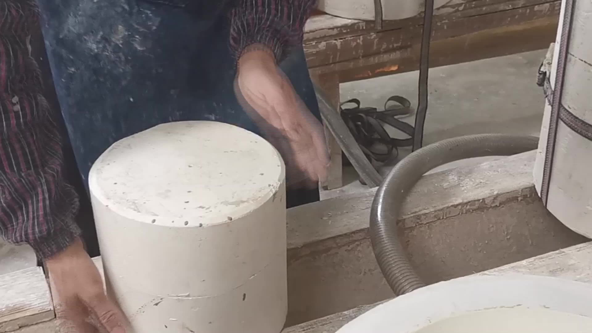 Estilo americano adornos de cerámica moderno blanco y negro de cerámica de tarro de mermelada frasco
