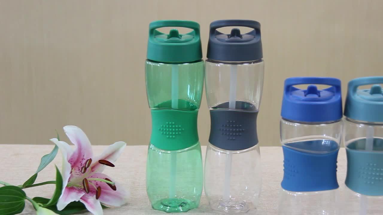 नई आगमन BPA मुक्त प्लास्टिक फल पानी की बोतल