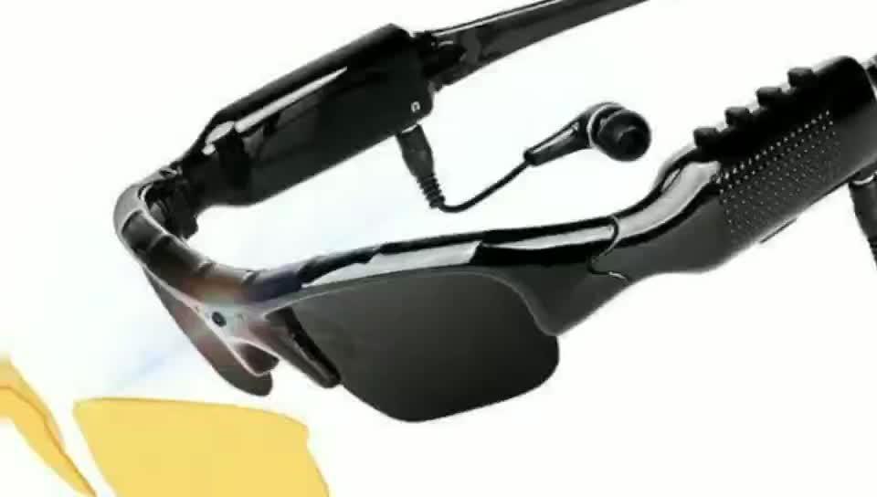 1080 P Terbaru Smart Bluetooth Rekaman Mengambil Gambar Mikrofon HD Kacamata Kamera Video