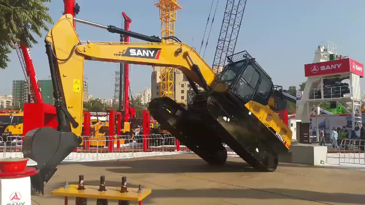 SANY SY235 23 Ton Medio Crawler Macchine Movimento Terra Escavatore in Vendita