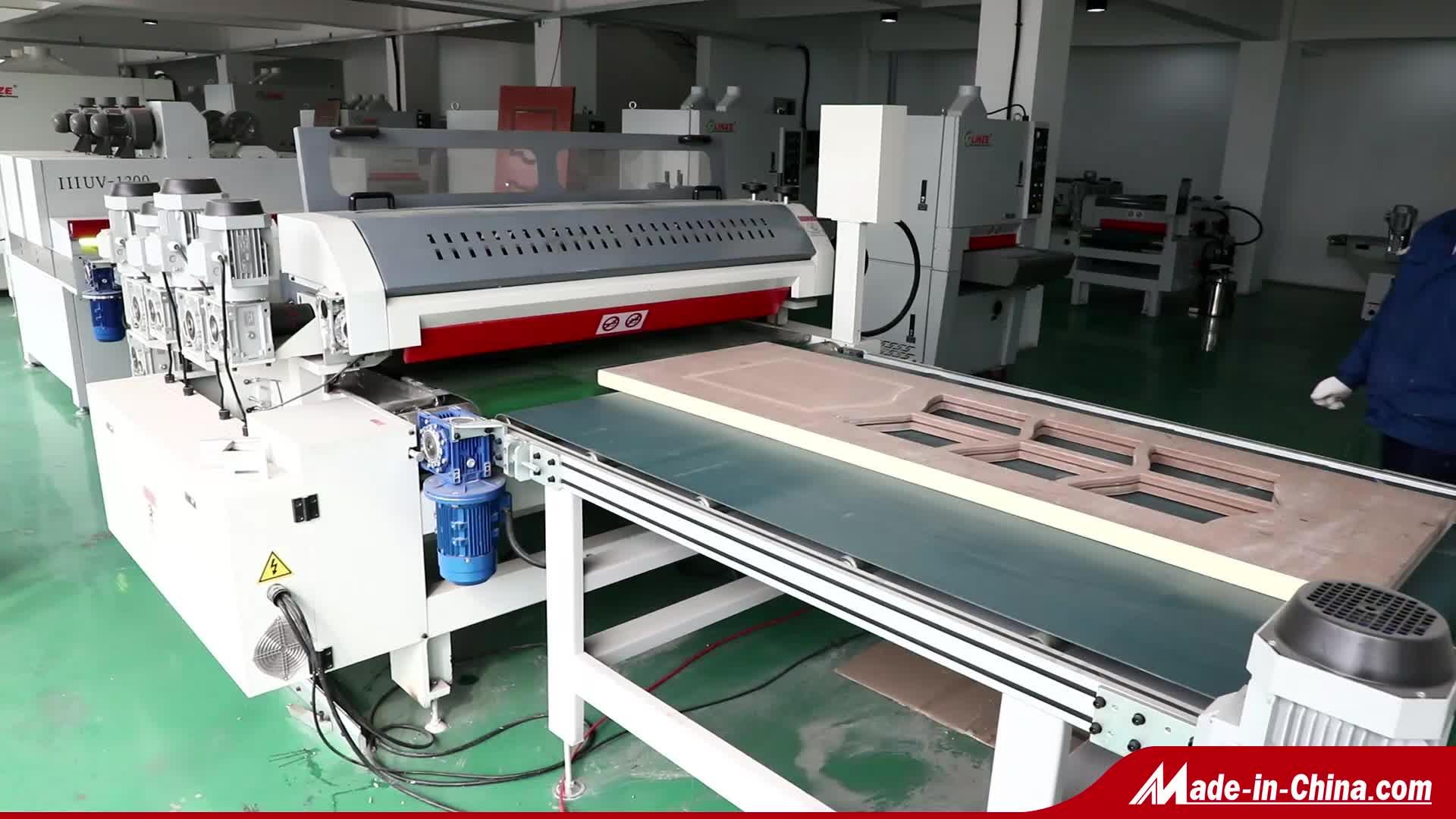 Houtbewerking Kastdeur Roller Coating Machine Voor MDF Board