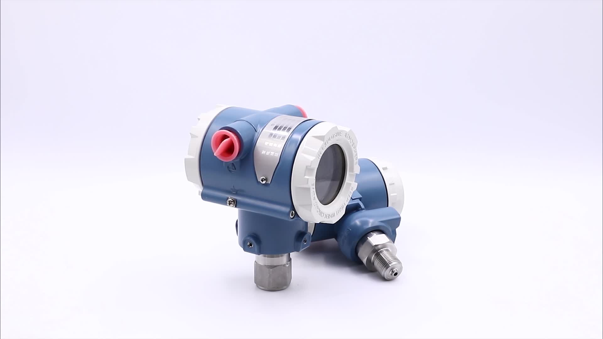 Sanitary pressure transmitter for food, beverage, pharmaceutical and biotechnology