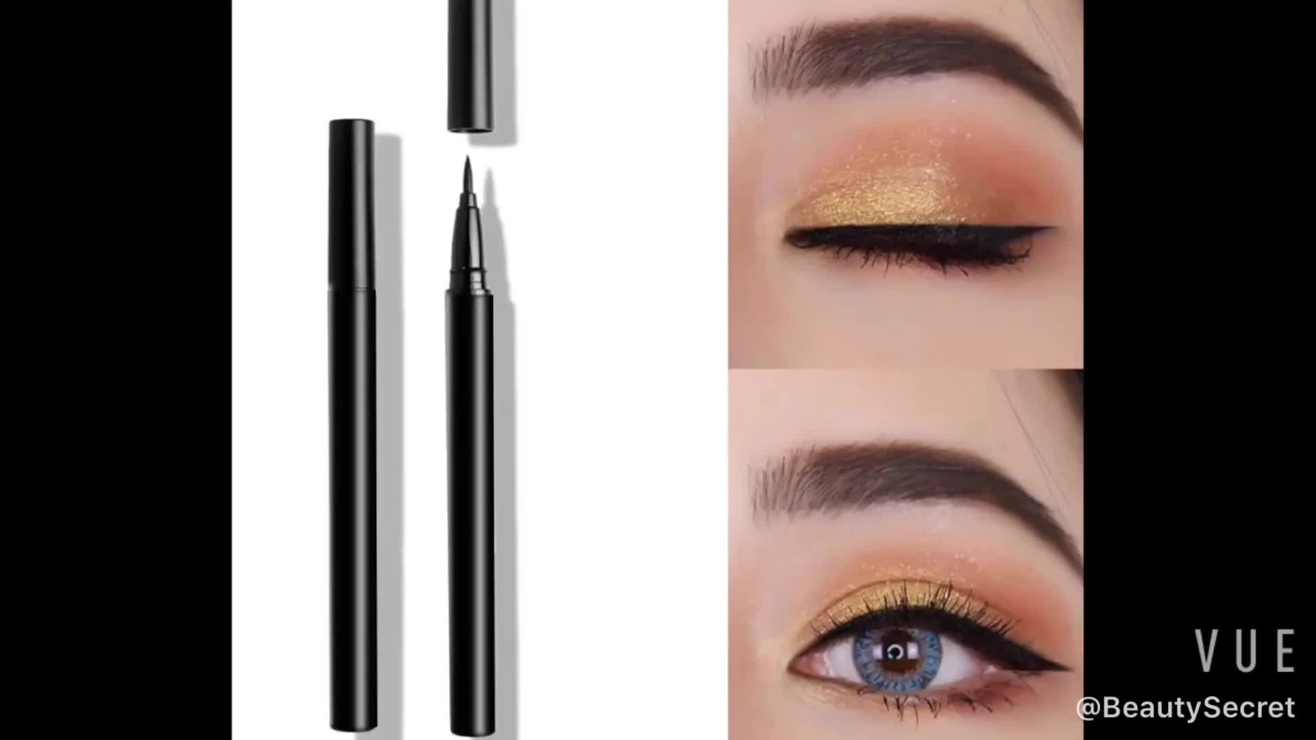 Waterproof  Private Label Set Package  Pencil Long Lasting  Eyeliner
