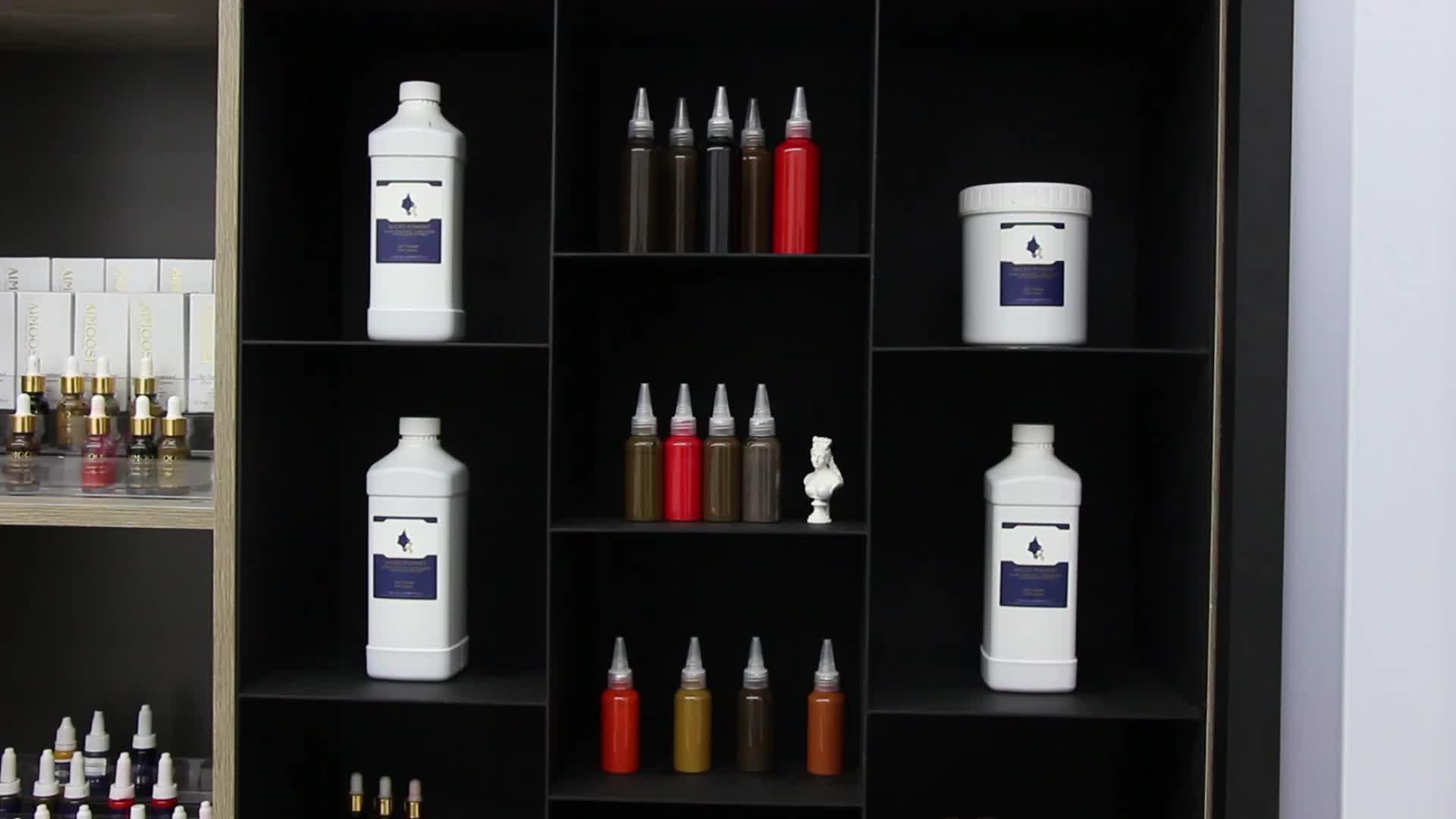 AIMOOSI ODM/OEM 100ml Pigment Voor Permanente Make Best Microblading Inkt Wenkbrauw Eyeliner Lip Tattoo