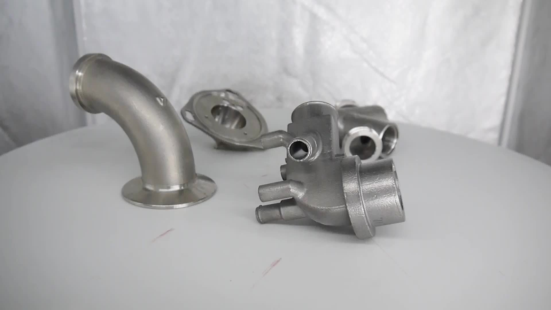 Custom NPT Threaded Fitting Cast Malleable Iron Pipe Fittings
