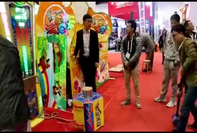 factory arcade game machine hammer power game