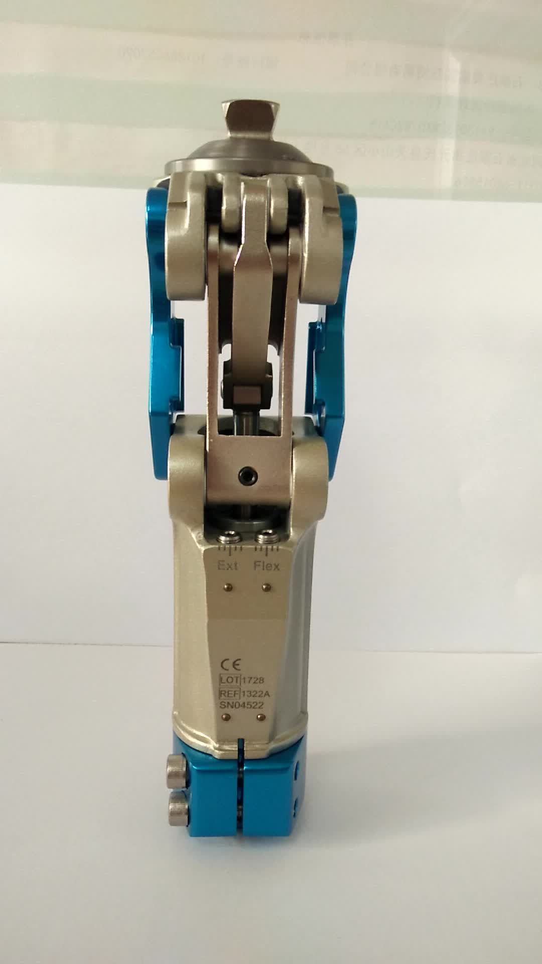 medical Implant prosthetic Aluminum and magnesium alloys 4 bar pneumatic knee joint