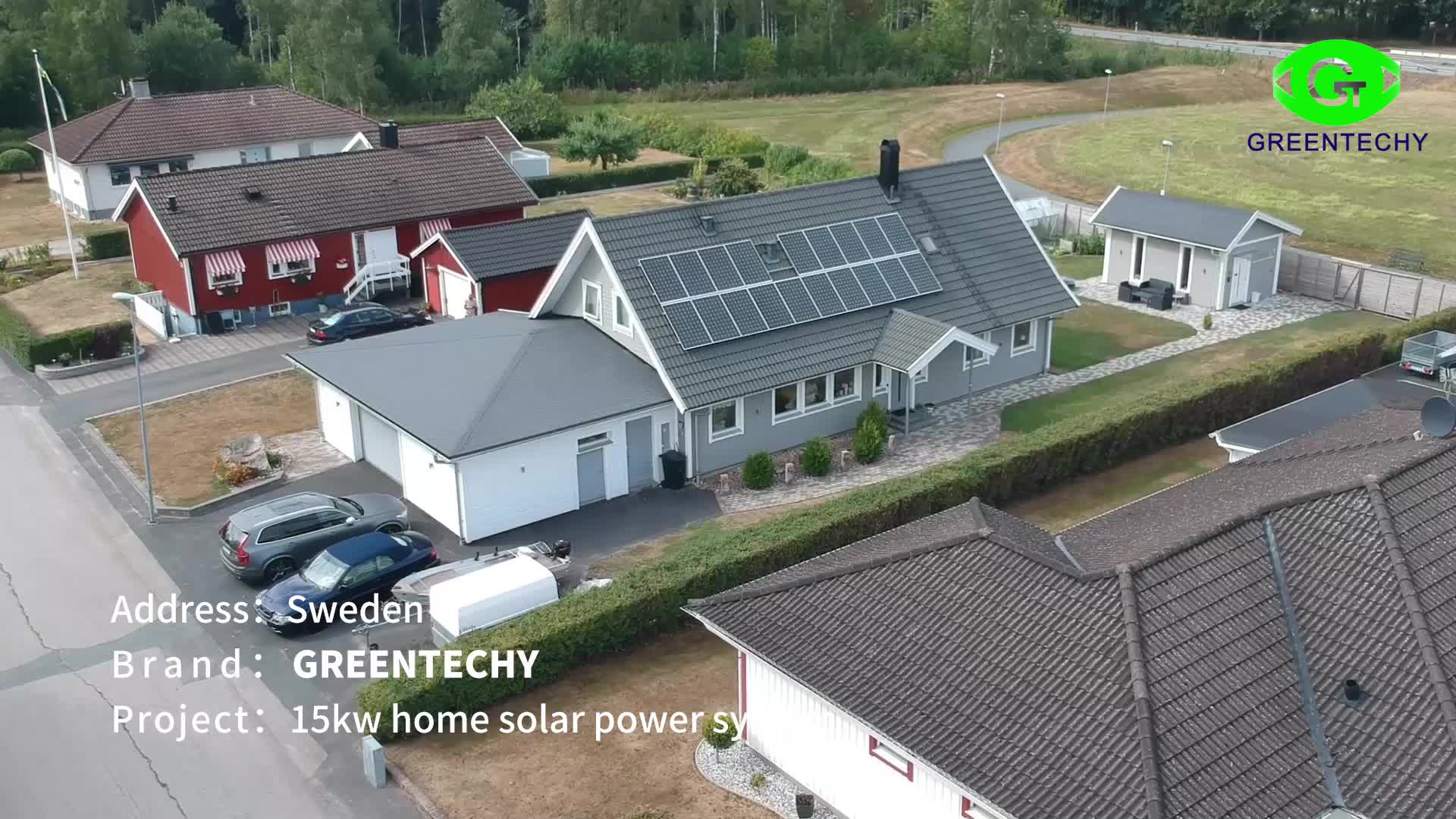 3kw off-grid solar system 3000w home solar power system to load air conditioner water pump