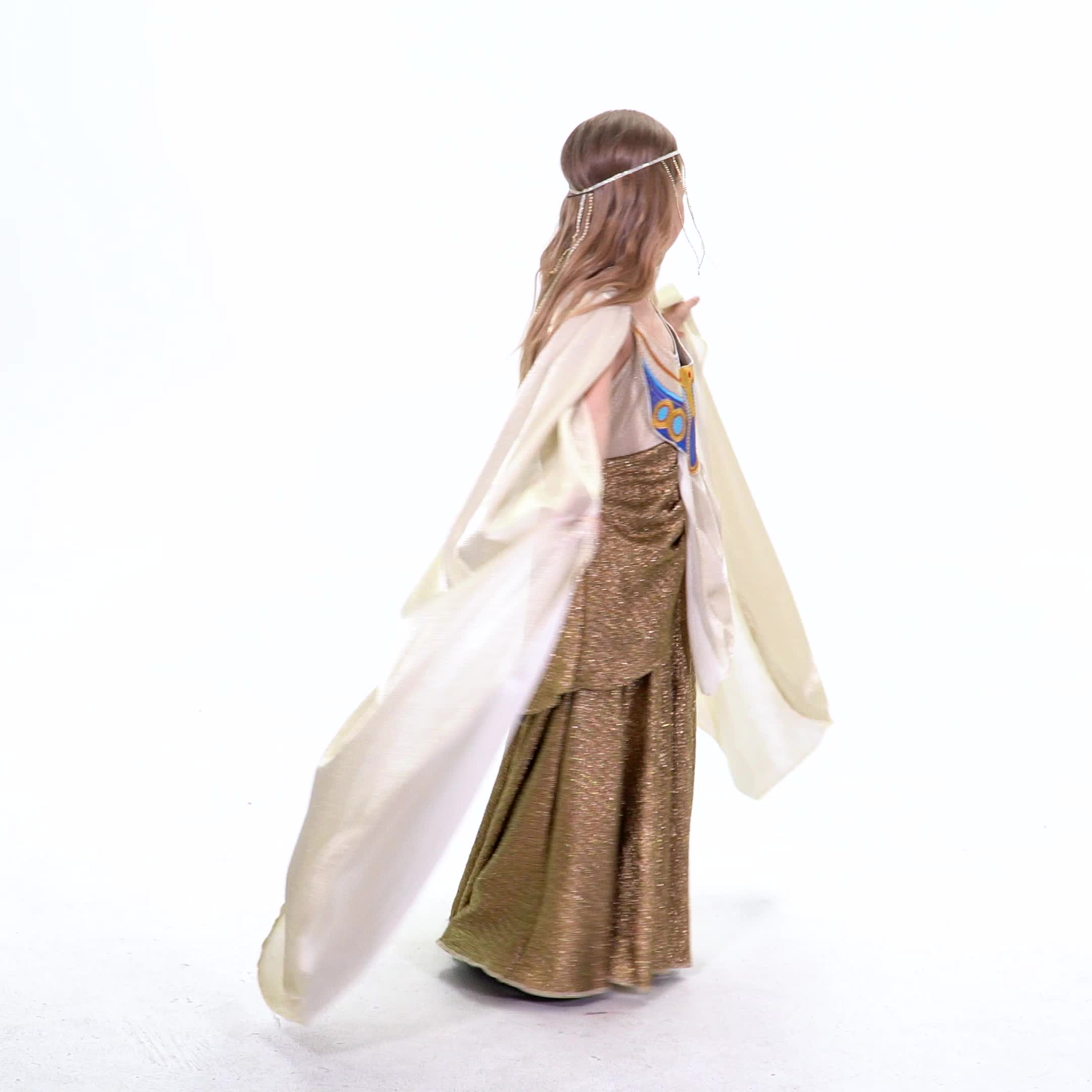 Mejor de los niños halloween traje de Carnaval 2019 niñas vestido trajes Atenea diosa cosplay vestido de ropa para niñas
