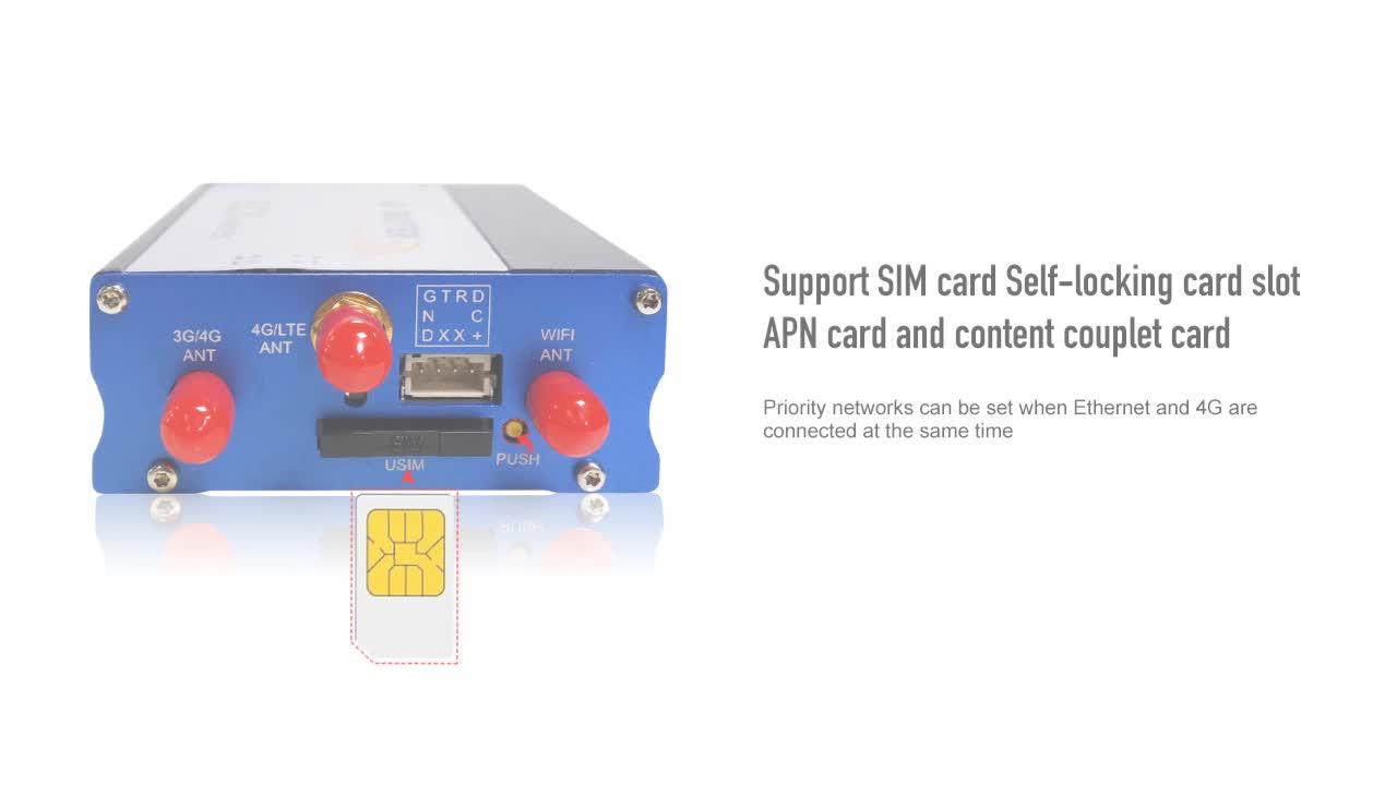 WIFI hotspot wireless industrial 4G LTE WIFI Router