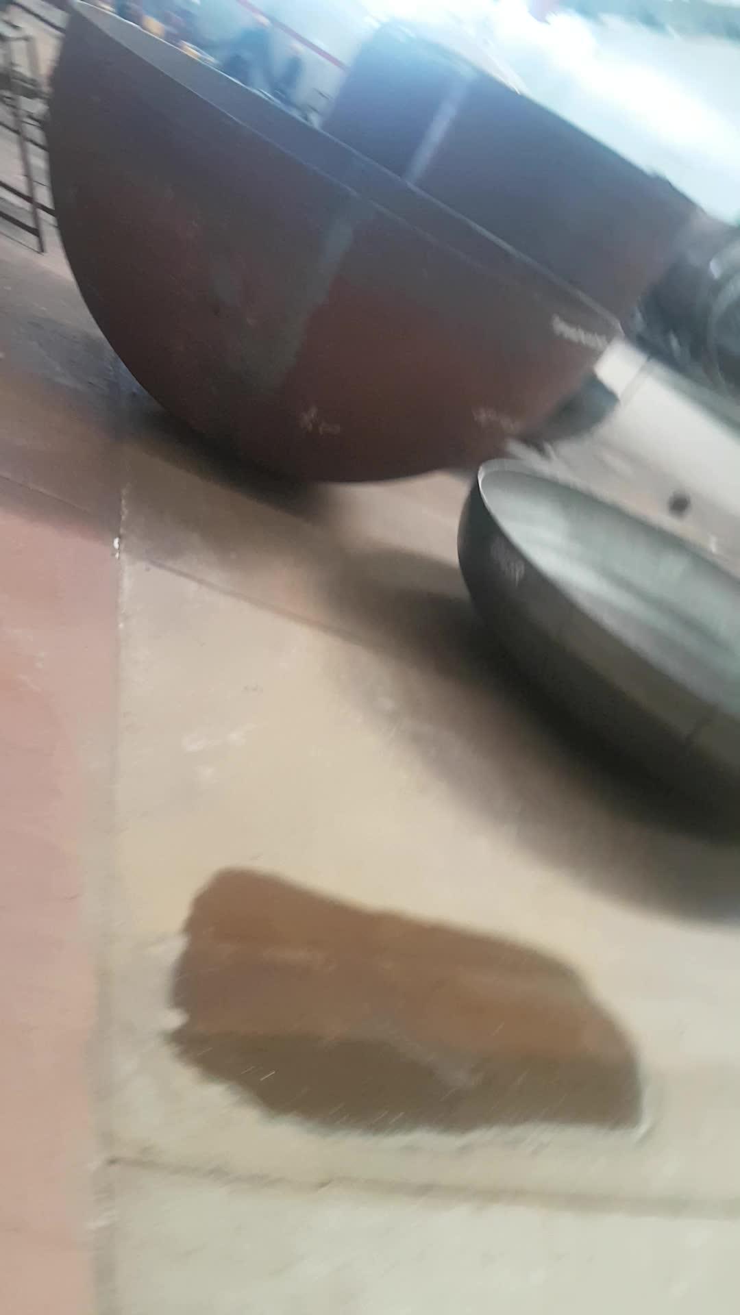 Qixing çanak başlık basınçlı kap çanak ucu eliptik kapak tankı kafa