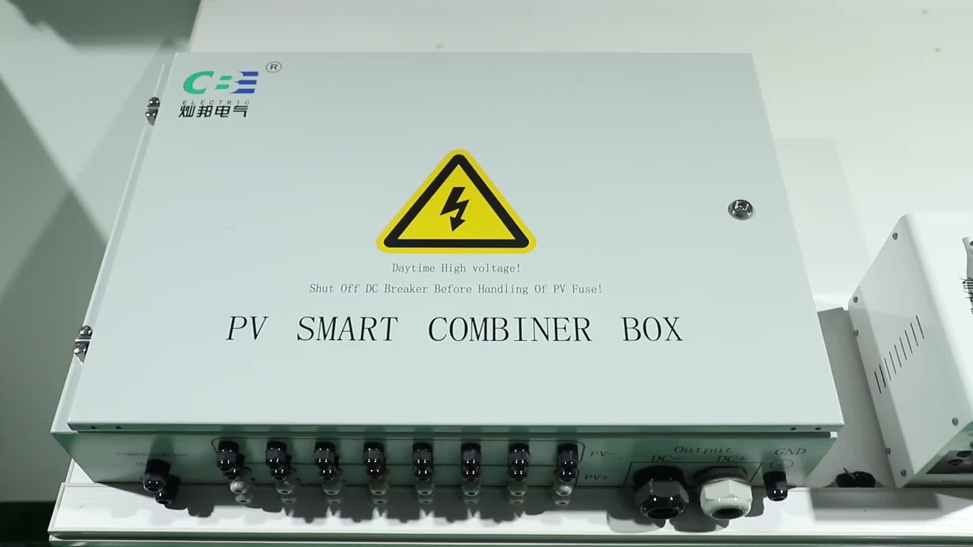 China profissional de fabricação de caixa combinador solar pv para sistema solar DC com microinverter