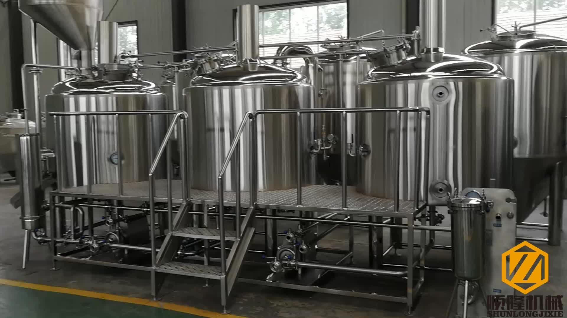 1000l micro beer brewing equipment