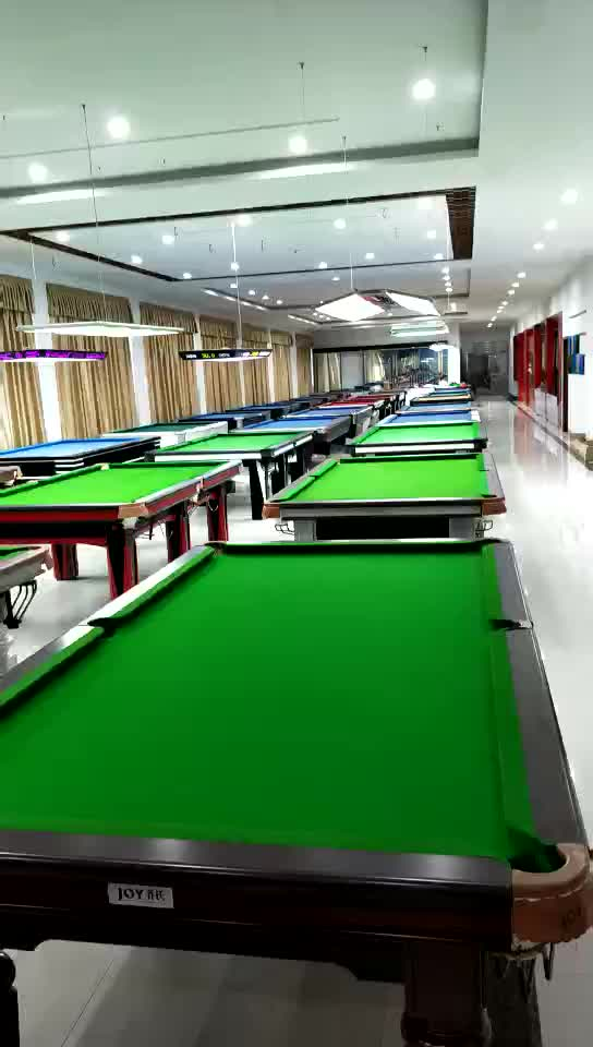 Solid wood elegent 12ft snooker table for play game