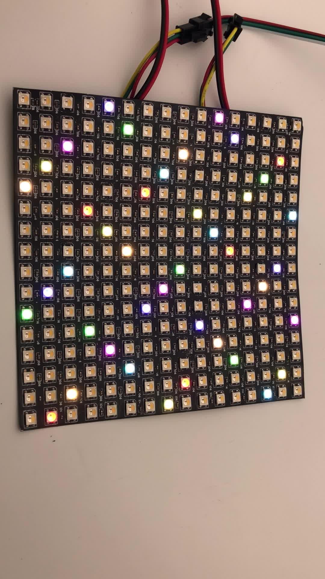 SK6812 RGBW Dot LED Matrix 8x8 - 64 RGBW LED Pixels