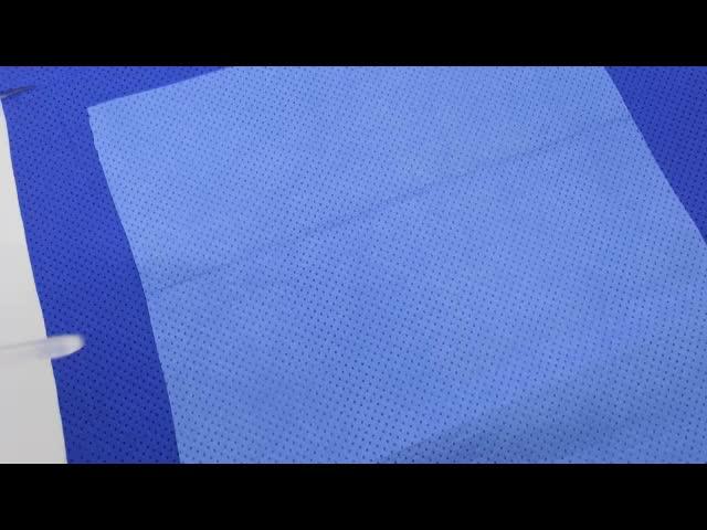 ทิ้งผ่าตัดผ้าม่านผ้าเช็ดตัว non woven roll