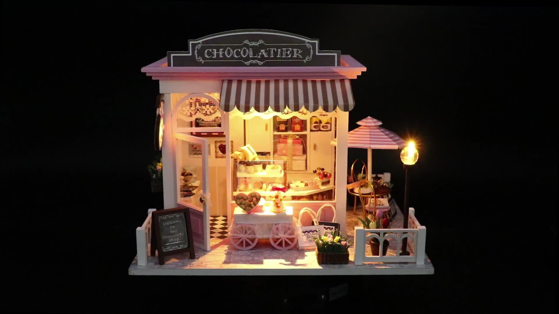 Grosir Miniatur Rumah Boneka Kayu Diy Mebel Rumah Boneka Murah, Miniatur Furnitur