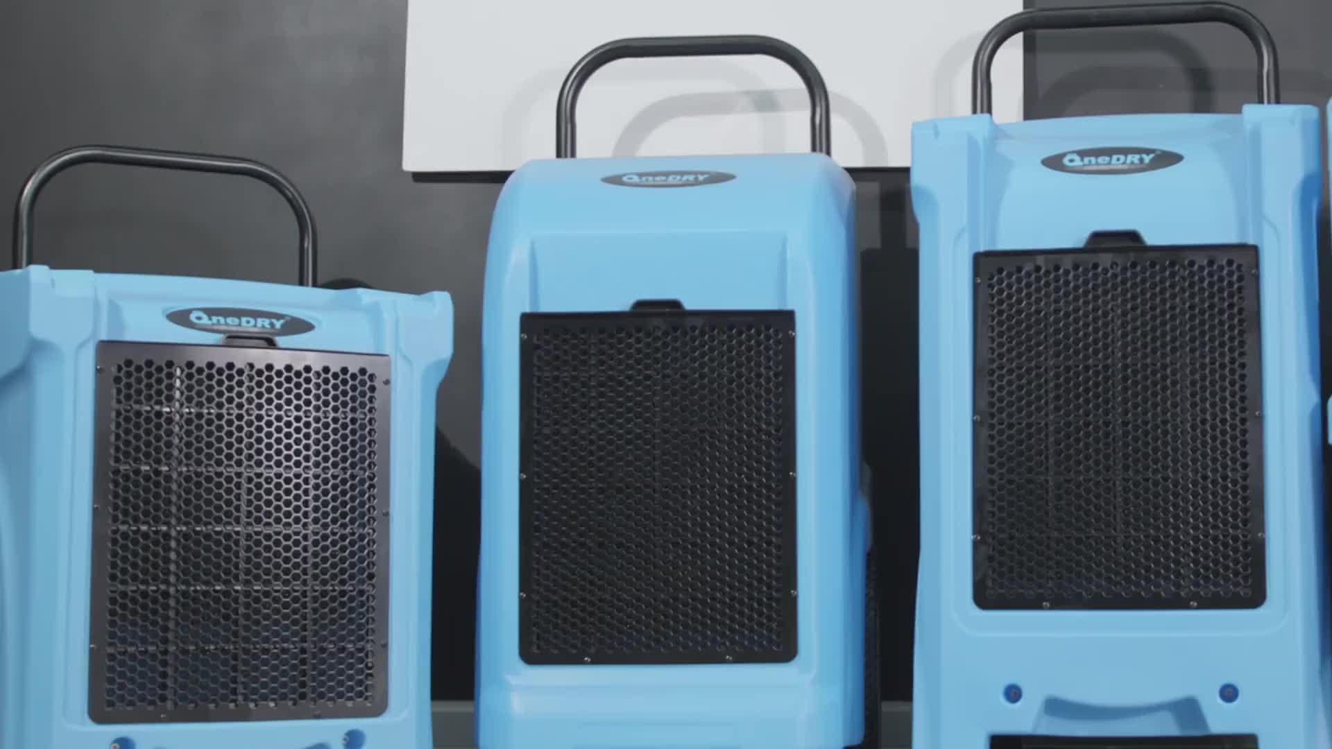 סין ספק סיטונאי 70L 125 ליטרים/יום LGR תעשייתי יבוש מסיר לחות נייד מחיר עבור מים נזק שיקום