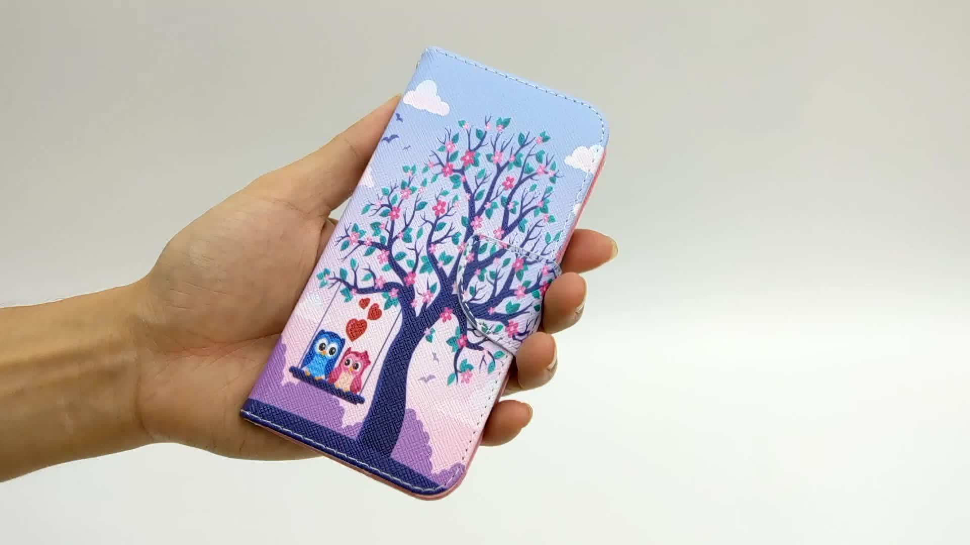 Wallet Card Slot Für Samsung Galaxy S7 Note8 S8 S9 Note9 S10 Leder Telefon Fall