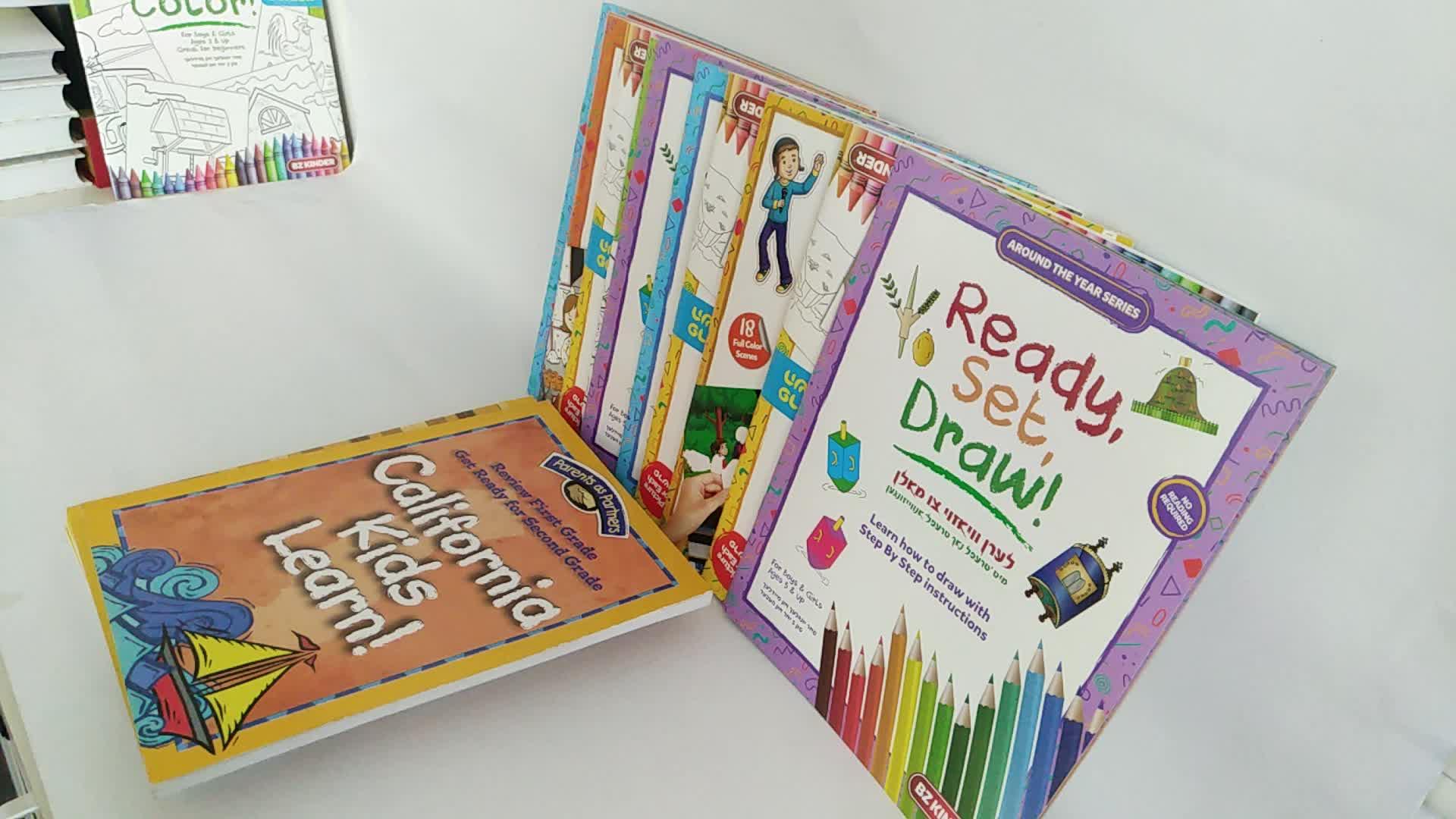 Buchherstellung maßgeschneiderte billige Taschenbuch kleine Buchdruck
