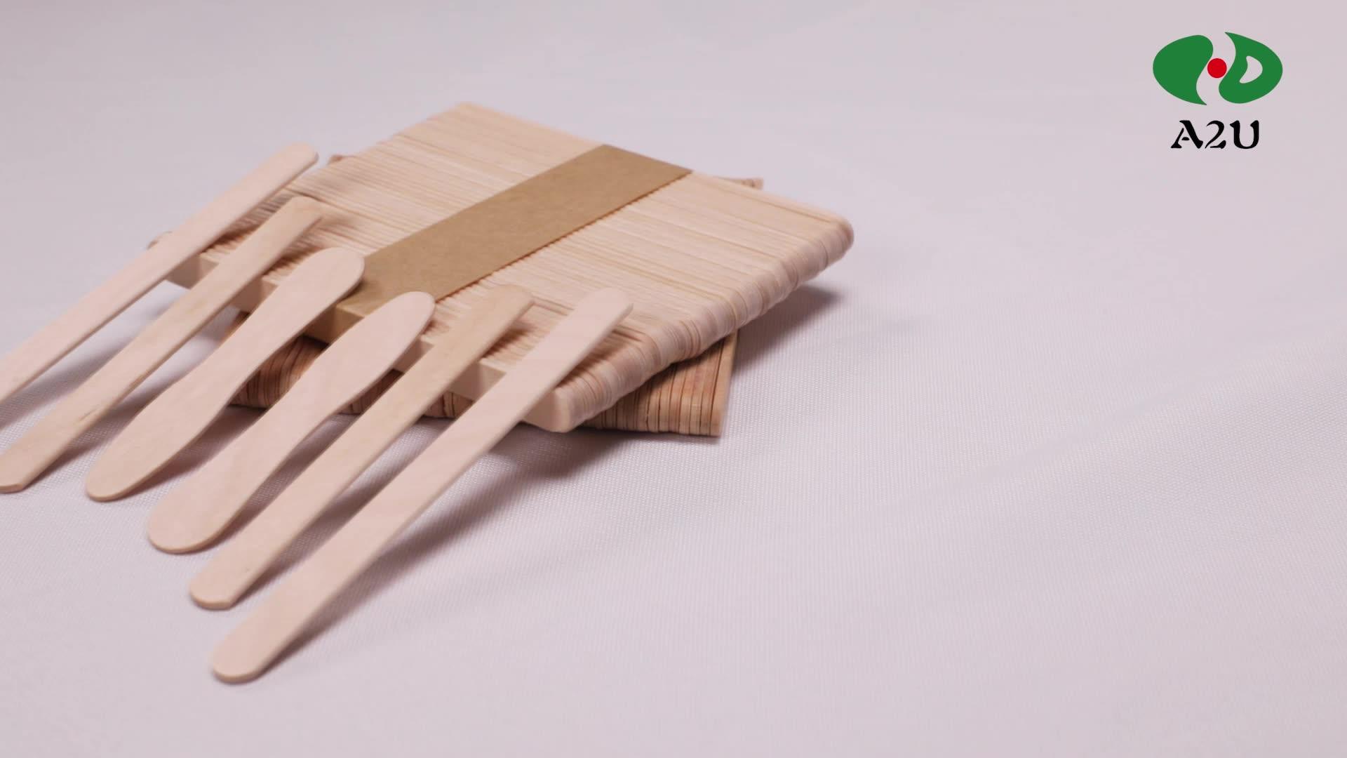 Китай, оптовая продажа, одноразовые деревянные палочки для мороженого из березы