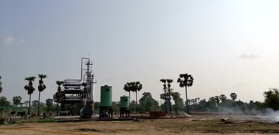 New designed with distillation tower model oil and gas machinery