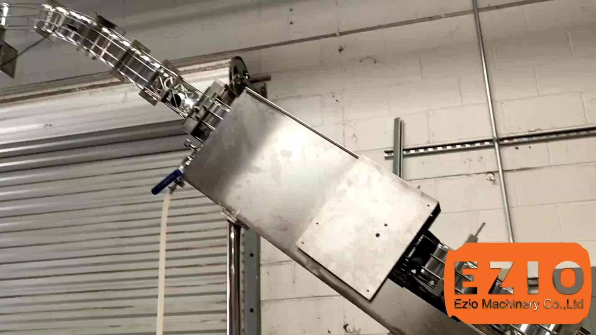 Eziobloc-12/1 Düşük Oksijen Soğuk Demlemek Kahve doldurma kapaklama makinesi Sistemi/Konserve Hattı Ekipmanları