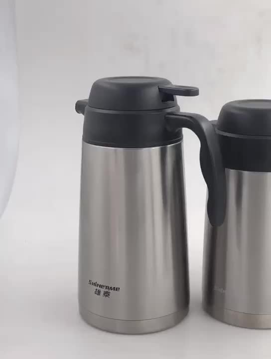 Xiongtai 2L thermos tea coffee pot stainless steel coffee pot thermos bottle flask travel thermos