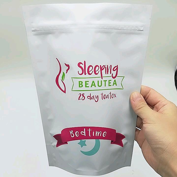 Resealable Pouch Plastic Paper Tea Bag Pouches