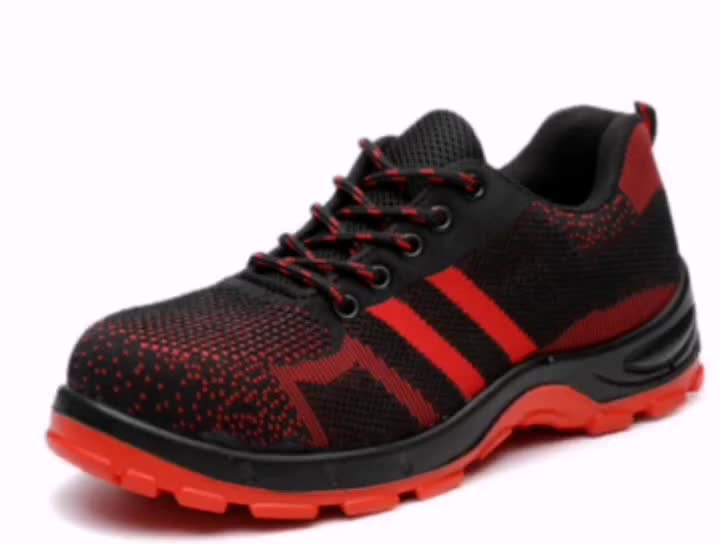 Wearable Men Construction Work Industrial Work Shoes Anti-smash Anti- Breathable sport Anti-puncture Zapatos safety shoes