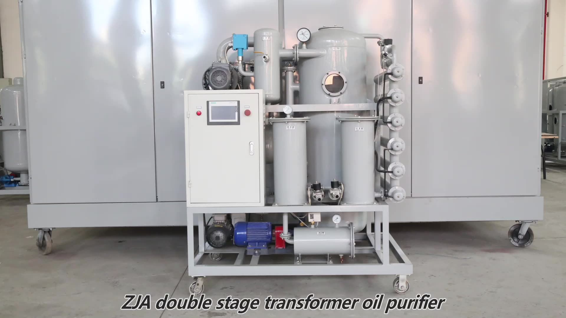 Chongqing automobile transformer oil recycling machine insulation oil filtration plant