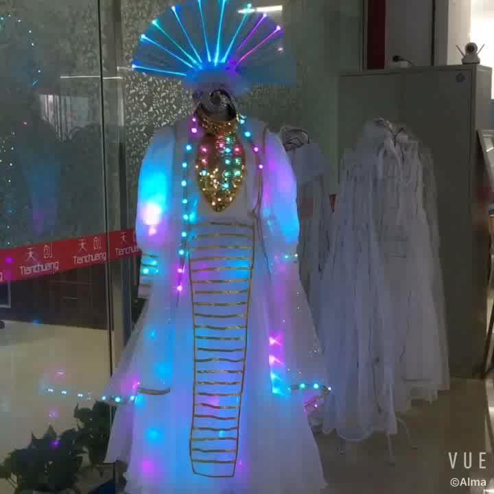 LED ballroom dance dress, Irish dancing dresses