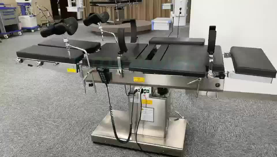 China multipurpose clinic operation electric hydraulic ophthalmic eye surgery surgical hospital operating table with good price