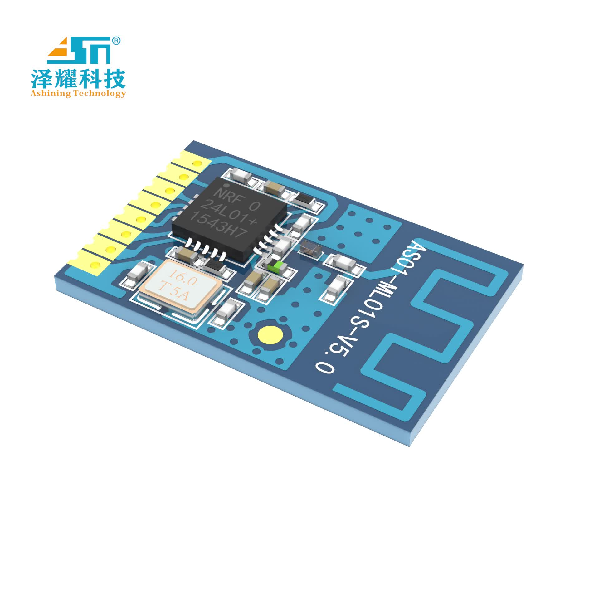AS01-ml01s 1mw 120m Spi Rf 2.4ghz Cc1101 Si4463 Si4438 Wireless Transceiver And Receiver Interface Module Nrf24l01 100mw