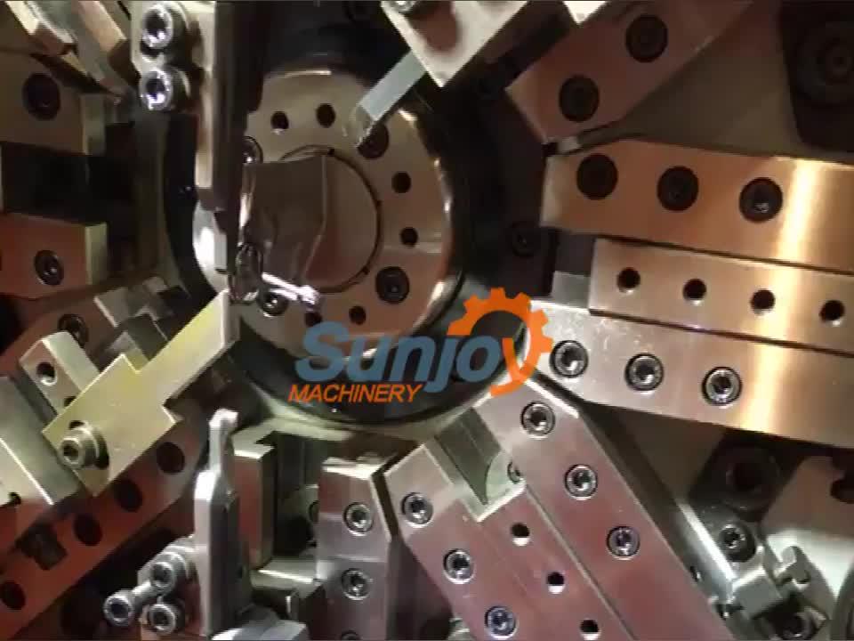 Спиральная пружина кручения пружинная намоточная машина Профилегибочная машина производитель пружинная машина с ISO от синьчжу