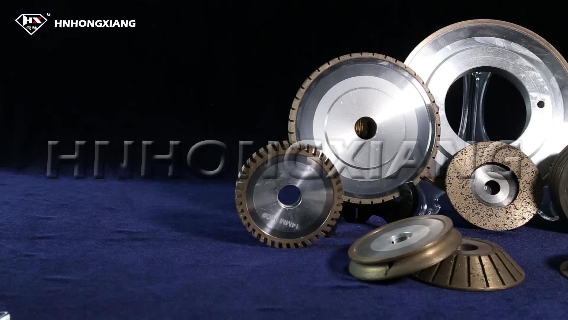 Bakelite bonded diamond disc resin wheel for glass