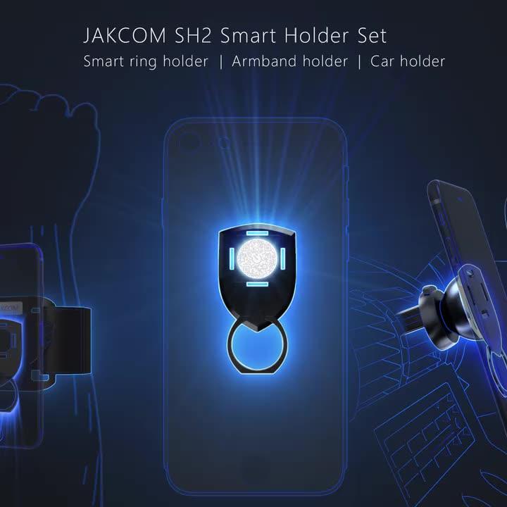 JAKCOM SH2 Smart Holder Set New Product of Mobile Phone Holders 2020 as beasus cell phone sticker card holder anti shake tool