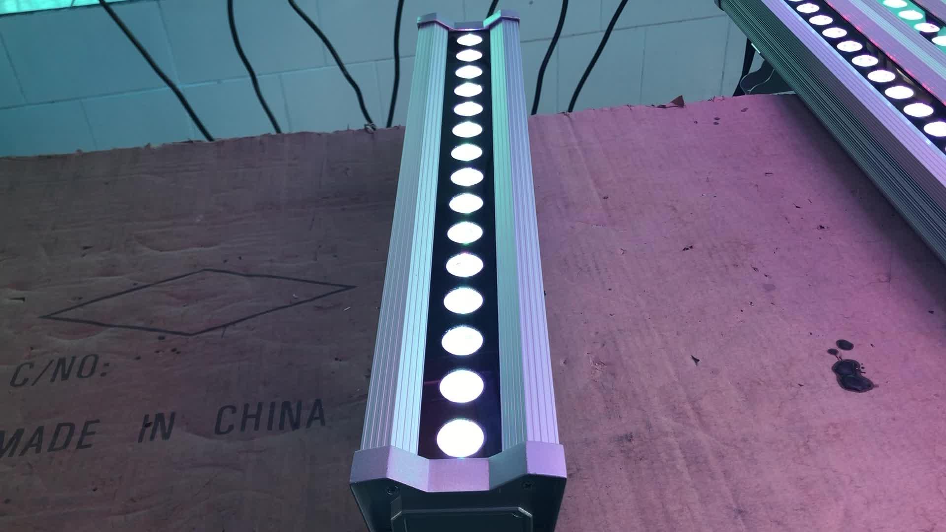 30x1 W 1000mm RGB dmx arandela de pared 85-265 V DMX controlador