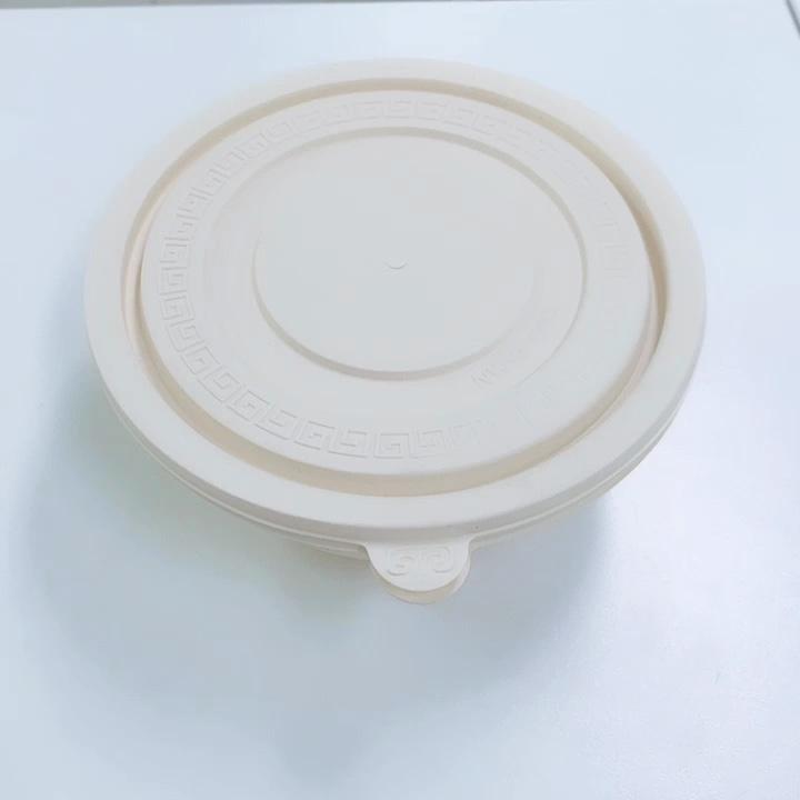 חדש ידידותית לסביבה 600ML מזון תיבת מתכלה תירס עמילן מזון מיכל