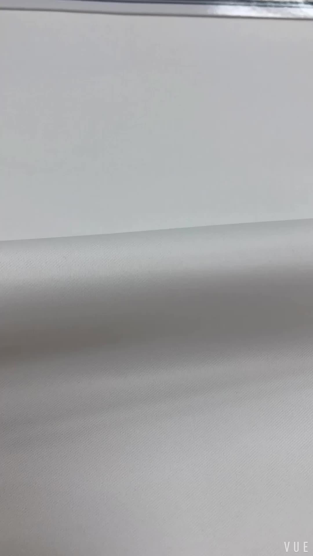 LCL266 Taiwan Stiff Thick Matte Satin Fabric For Wedding Dress