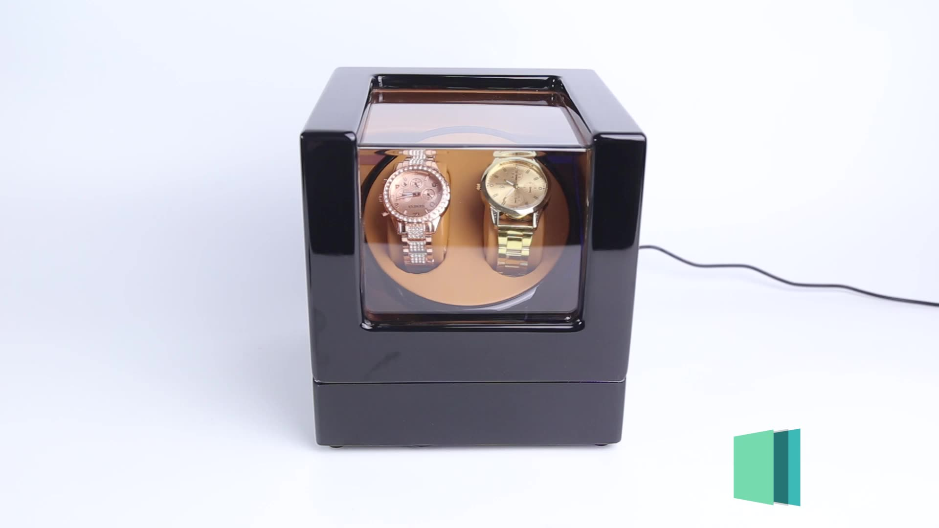 Time partner Luxury  motor watch winder box as a beautiful gift