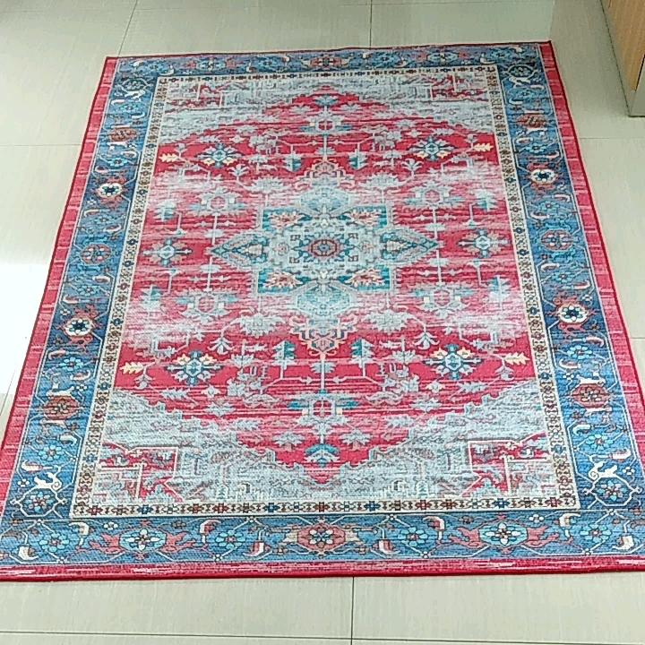 베스트 셀러 거실 슈퍼 셔닐 인쇄 카펫