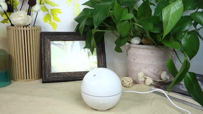 ABS PP di nuovo disegno mini sfera del commercio all'ingrosso portatile umidificatore ad ultrasuoni aroma d'aria fragranza diffusori