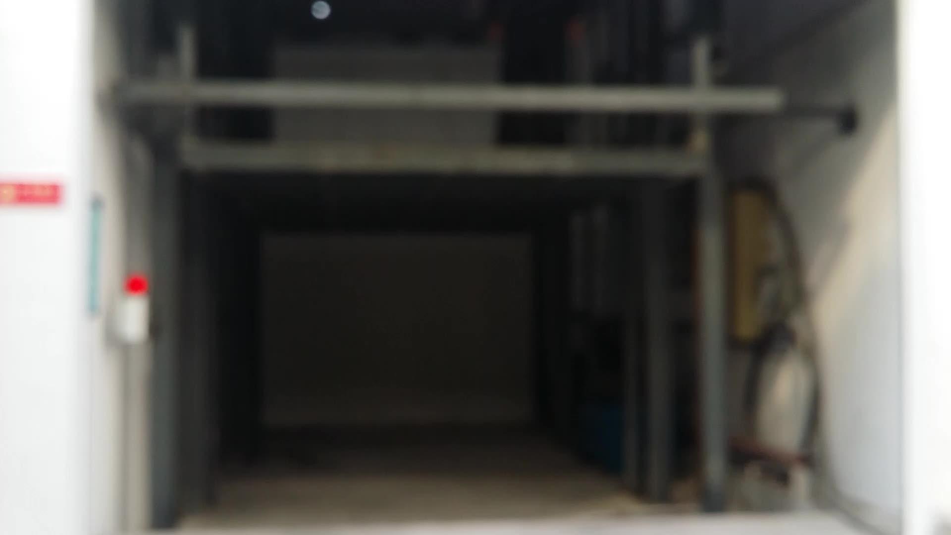 1000 ~ 3000kg Entrepôt Marchandises Chine Ascenseur Plaftrom