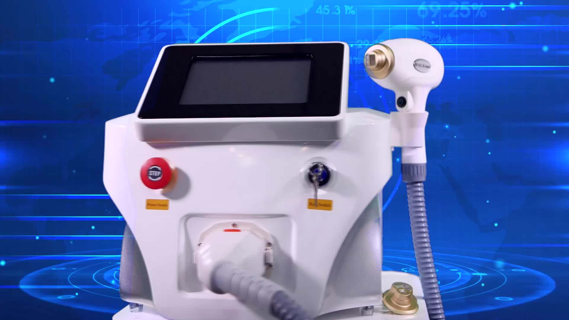 Unique Shell Hair Removal  808nm Diode Laser Home Laser Hair Removal Machine With Skin Rejuvenation Laser