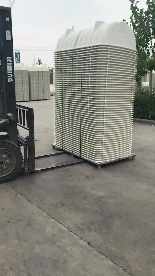 Good reliability frp septic tank biotech toilet for waste food