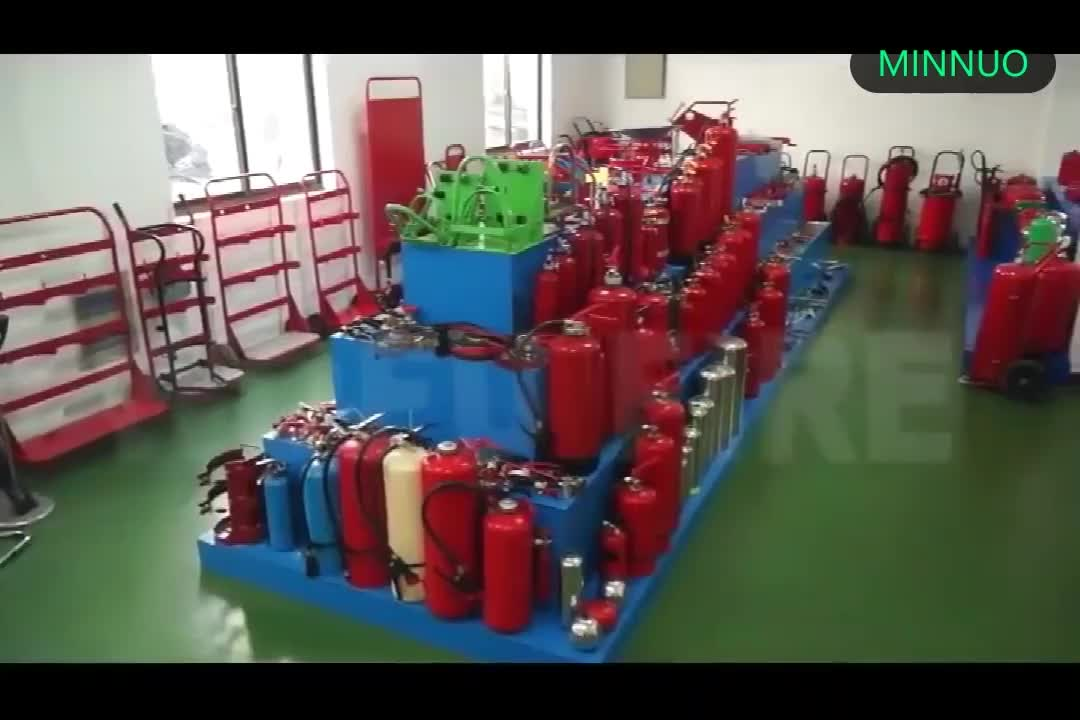 High safety empty ABC 6kg co2 fire extinguisher cylinder for fighting