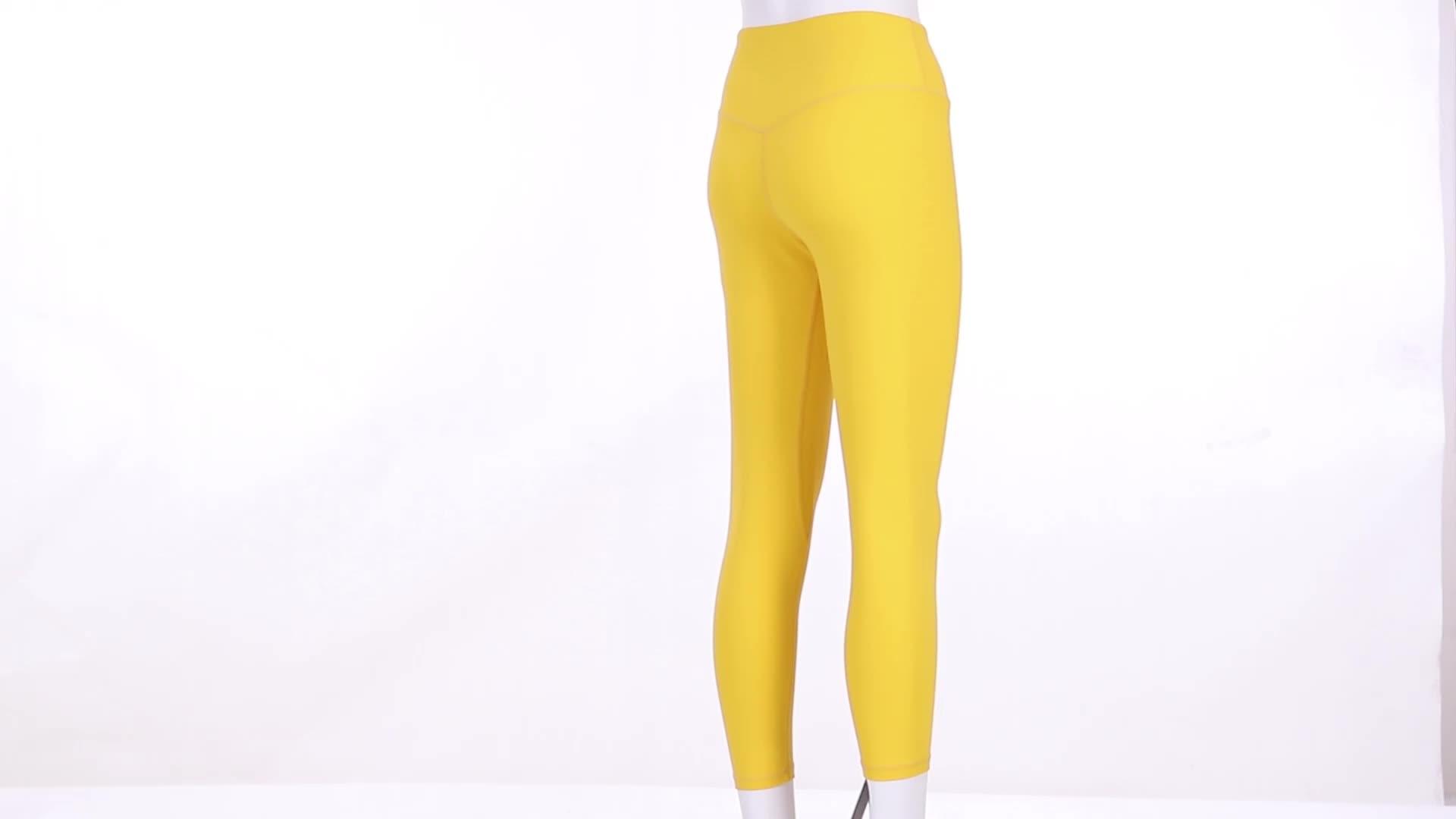 Dri Fit Schlankes Training Leggings Stretch Bauch Kontrolle Sport Laufen Digital Gedruckt Sublimation Recycled Yoga Hosen Frauen
